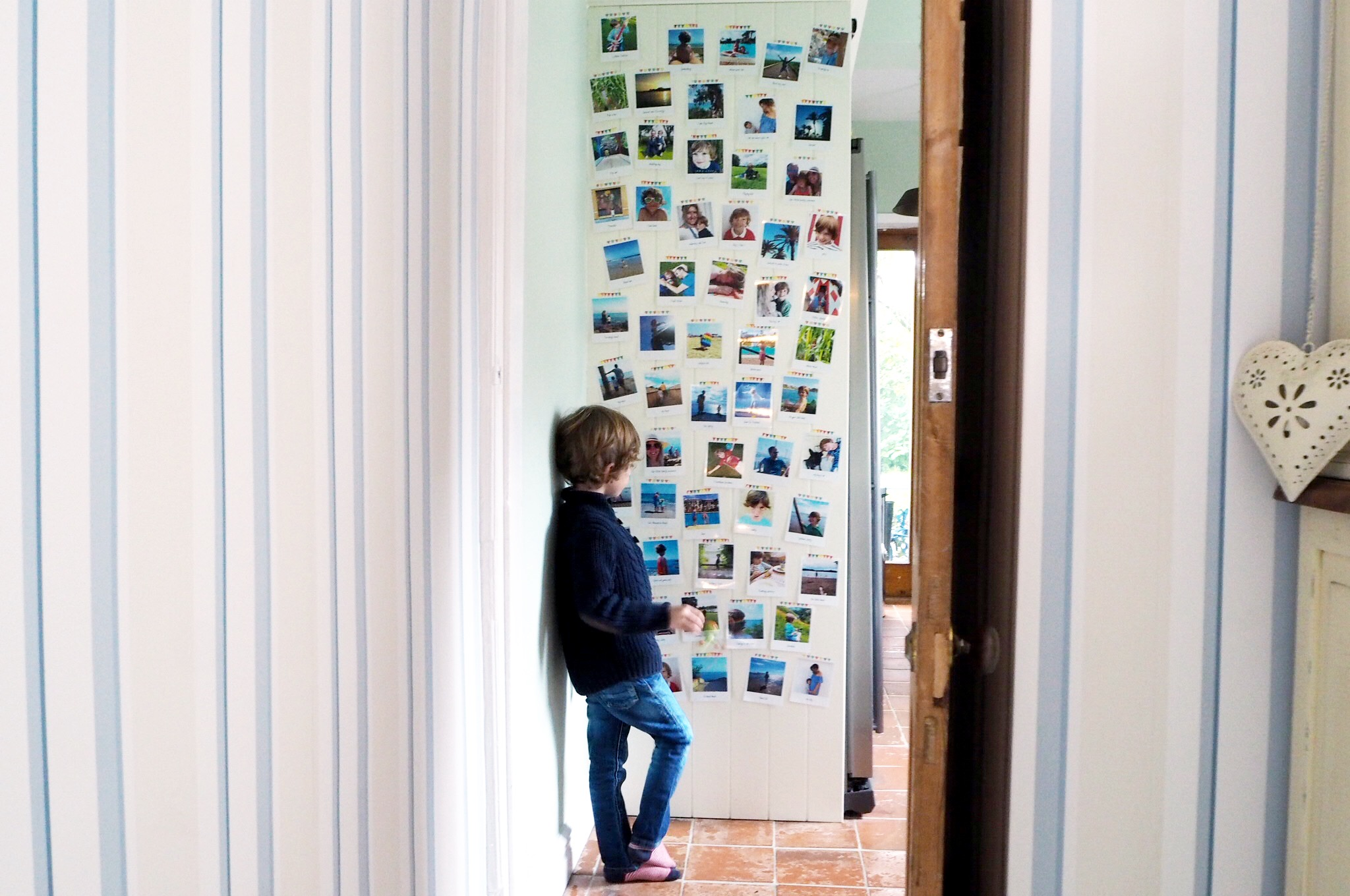 photo wall, life as our little family, lalalab